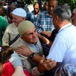 Kırklareli'de hacı adayları kutsal topraklara uğurlandı