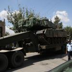 Suriye sınırında askeri hareketlilik