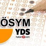 2016 YDS sınav sonuç ekranı (ÖSYM)