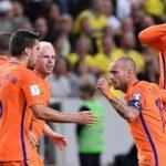 Hollanda'yı Sneijder kurtardı!