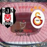 Beşiktaş - Galatasaray derbisinin ilk 11'leri