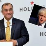 Murat Ülker'den ilginç Boris Johnson paylaşımı!
