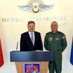 Başkan Çakır'dan 7. Ana Jet Üs Komutanlığına ziyaret
