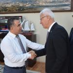 Emekliler Derneği Genel Başkanı Ergün'den ziyaret
