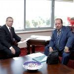 TÜ Rektörü Prof. Dr. Tabakoğlu'na ziyaret