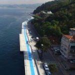 İstanbul'un yeni yürüyüş yolu açıldı