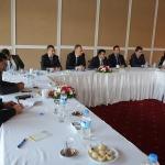 BİK Genel Müdürü Karaca, yerel basın temsilcileriyle buluştu