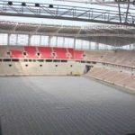 Samsun'un yeni stadında sona doğru...
