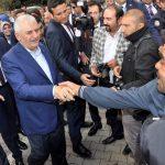 Başbakan Yıldırım, Sinanpaşa'da