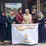 AK Partili kadınlardan ekmek israfına karşı kampanya