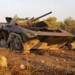 Esed'in askerleri mühimmatlarını bırakıp kaçtı