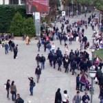 İzmir'de cuma namazında inanılmaz provokasyon
