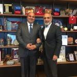Gölbaşı Kafkas Derneğinden Cumhurbaşkanı Başdanışmanı Topçu'ya ziyaret