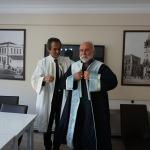 Bülent Ecevit Üniversitesinden Aycın'a fahri doktora