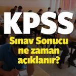 Ortaöğretim KPSS sınav sonucu ne zaman açıklanacak?