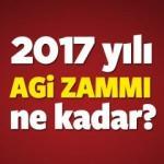 2017 AGİ ne kadar olacak? Asgari Geçim İndirimi kaç TL zam gelir?