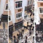 Kayseri'de HDP binasına baskın! Tüm polisler...