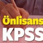 2016 Önlisans KPSS memurluk branş sıralaması