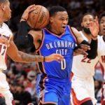 Russell Westbrook'tan bir triple-double daha!