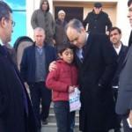 Bakan'la mendil satan çocuğun duygusal anları