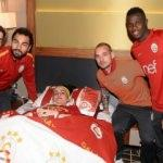 Galatasaray'a sürpriz ziyaretçi