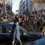 Gambiya'nin yeni lideri ülkesine döndü