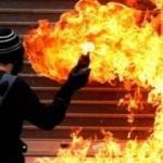 Avrupa'nın göbeğinde skandal! Molotoflu saldırı