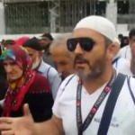 """Kabe'de Umrecilerden Türkiye için """"Evet"""" sesleri"""