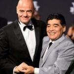 Maradona FIFA'da göreve başladı