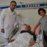 Denizli'de 86 yaşındaki hasta hayata döndü