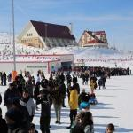 15 Temmuz şehitleri anısına kış sporları etkinliği yapıldı