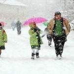 Altı ilde eğitime kar engeli