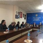MHP İlçe Başkanı Duymuş'tan AK Parti İlçe Teşkilatını ziyaret