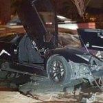 İçinizi cız ettirecek lüks araç kazaları
