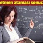 MEB - Sözleşmeli öğretmen ataması başvurusu sonuçları