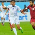 Özbekistan, Katar'ı tek golle geçti