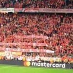 Bayern - R.Madrid maçında Beşiktaş pankartı!