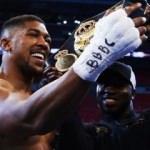 'Anthony Joshua ilk milyarder boksör olabilir'