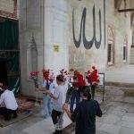 Eski Cami'de eski bir Osmanlı geleneği