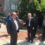 Zonguldak'ta yol yapım çalışmaları