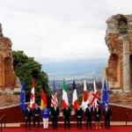 7 ülkenin lideri İtalya'da bir araya geldi