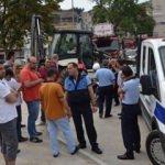 Bursa'da Beşiktaş bayrağı krizi