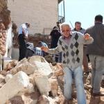 Nevşehir'de evin damı çöktü: 1 yaralı