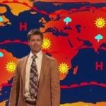 Brad Pitt'ten yeni hava durumu skeci