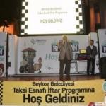 İstanbul taksi şoförleri Beykoz'da ağırlandı