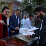 Milletvekili Hotar iftar çadırında oruç açtı