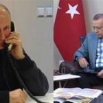 Erdoğan ile Putin'in telefonla konuştuğu o anlar
