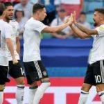 Kerem siftah yaptı, Almanya kazandı!