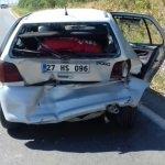 Kilis'te trafik kazası: 7 yaralı