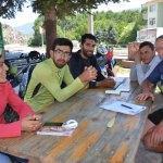 İranlı turistler bisikletle Türkiye'yi dolaşıyor